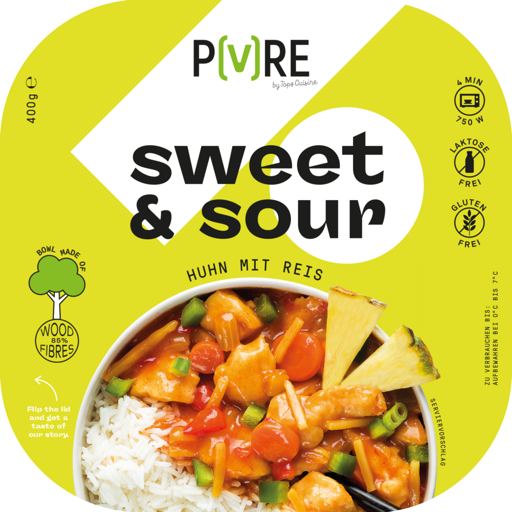 PURE Huhn Sweet & Sour