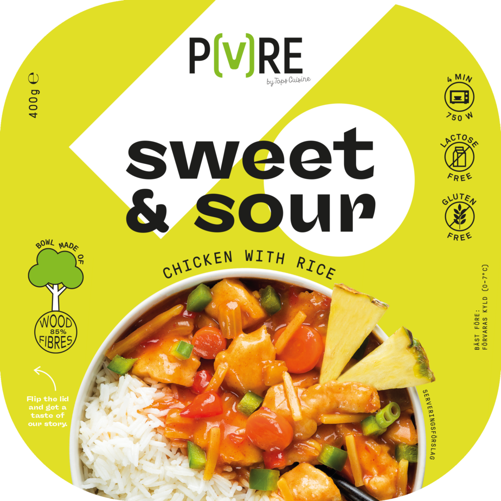 PURE Chicken Sweet & Sour